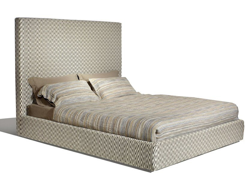 Double bed with high headboard SCREEN HIGH by MissoniHome