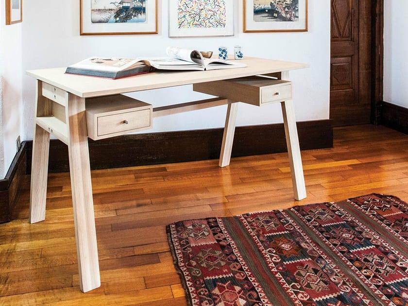 Ash secretary desk SCRIBA WOOD by IFT