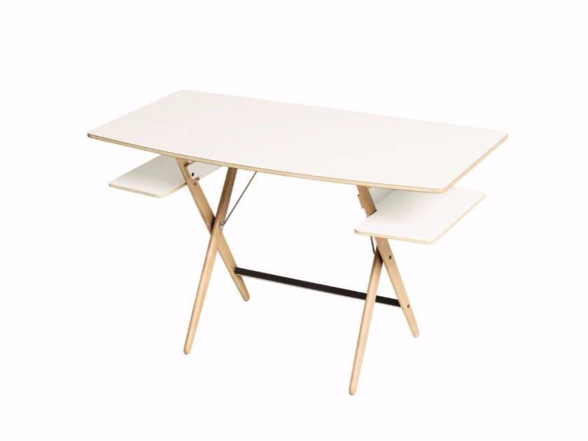 Laminate writing desk SCRITTARELLO by DE PADOVA