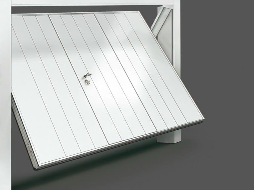 Up-and-over steel garage door SCUDO STEEL by DE NARDI