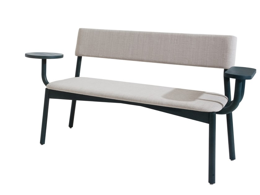 Fabric small sofa SCUELE | Small sofa by Blifase
