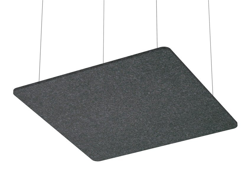 Hanging acoustical panel SCULPO | Hanging acoustical panel by ARCHYI. by Bi-silque