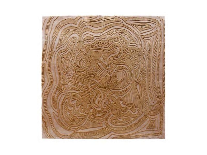 Handmade wool rug SCULPTURE by HC28