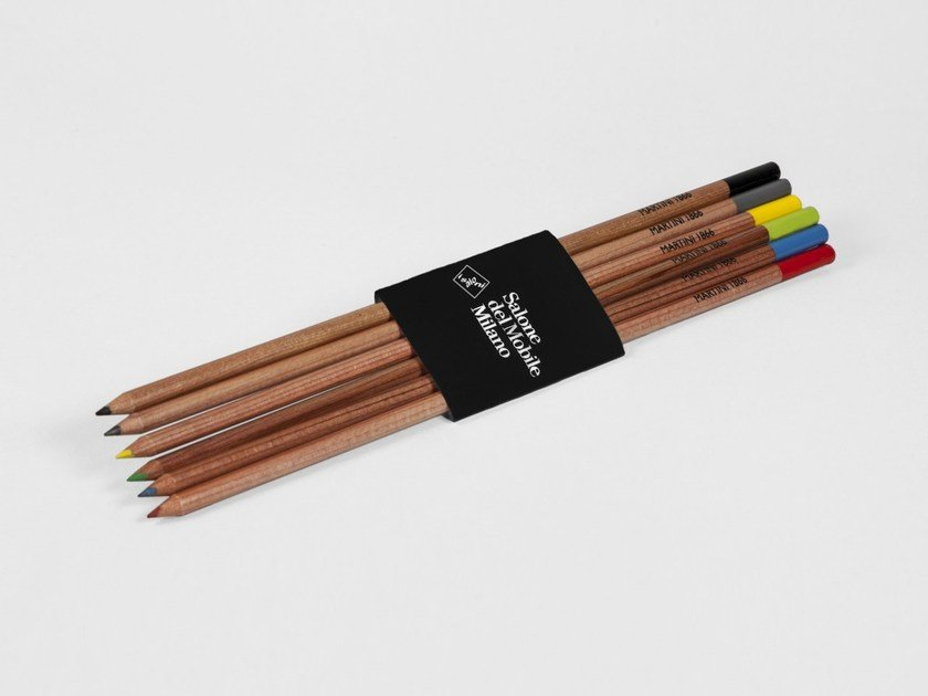 Colored pencils SDM MATILUNGA/6 by VITTORIO MARTINI