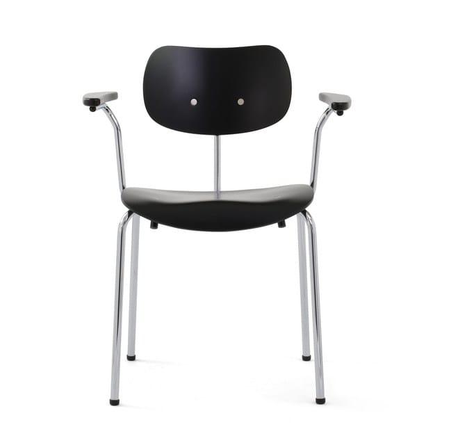 Se 68 Su Stuhl Mit Armlehnen By Wildespieth Design Egon Eiermann