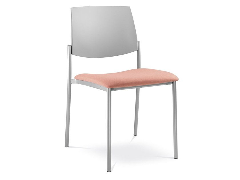 Stackable training chair SEANCE ART | Training chair by LD Seating