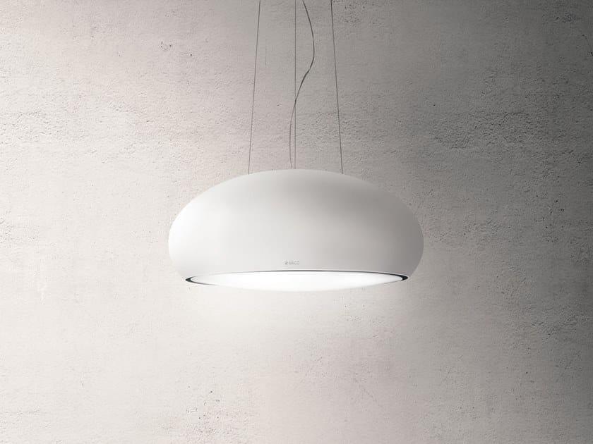 Inselhaube mit integrierter beleuchtung seashell by elica design