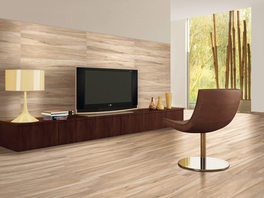 Porcelain stoneware flooring with wood effect SEASON | Flooring by Serenissima