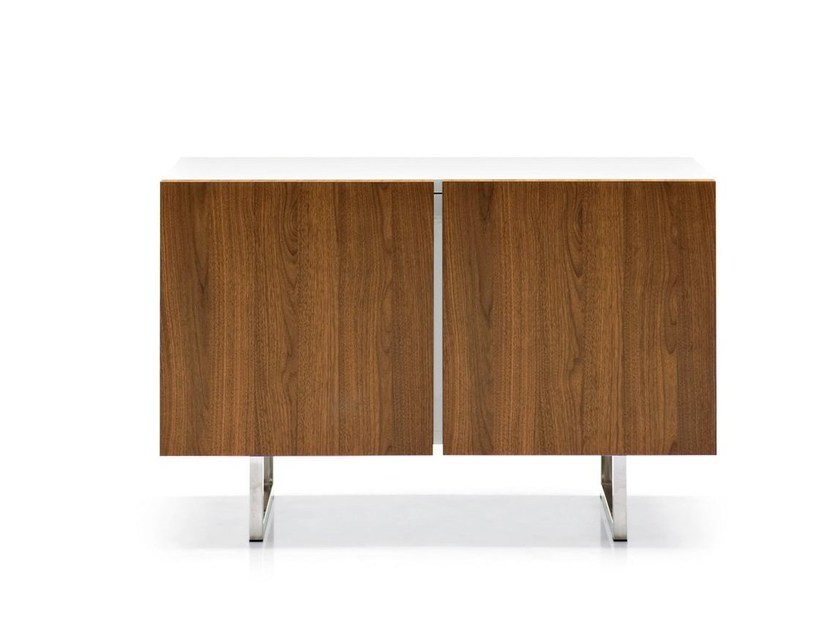 Lacquered sideboard with doors SEATTLE | Sideboard by Calligaris