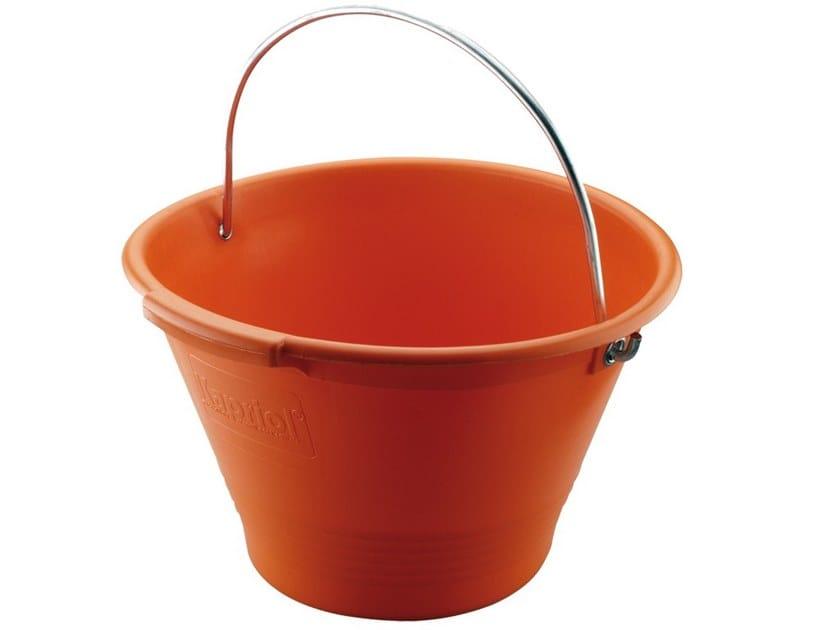 Buckets SECCHIO IN PLASTICA ARANCIO by KAPRIOL