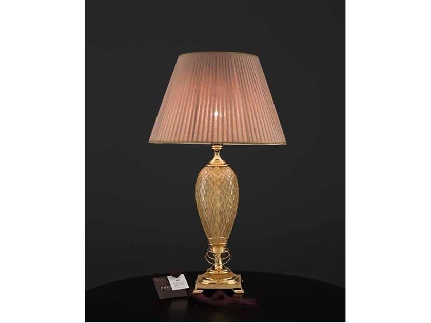 Lampada da tavolo in cristallo SECRET LG1 by Euroluce Lampadari