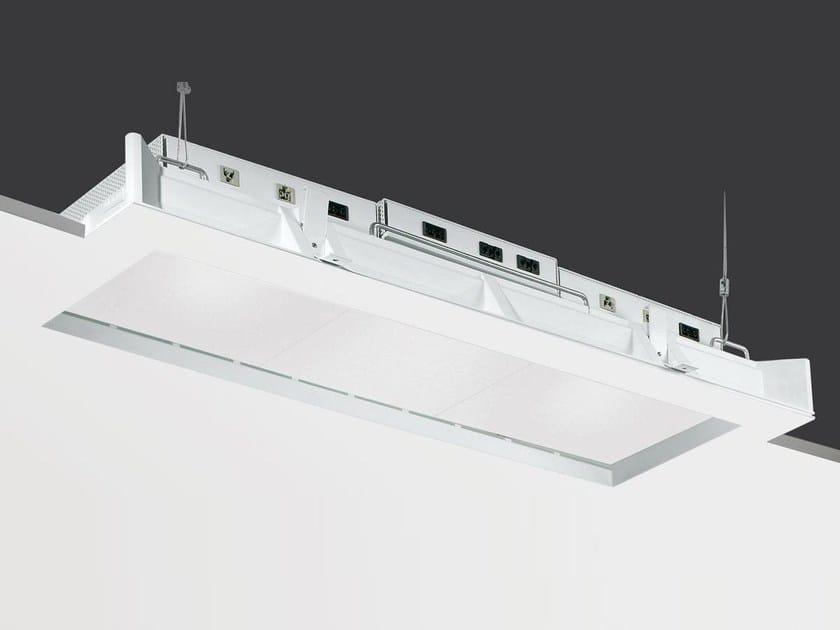 Recessed Coral® ceiling lamp SECRET LINE by Buzzi & Buzzi