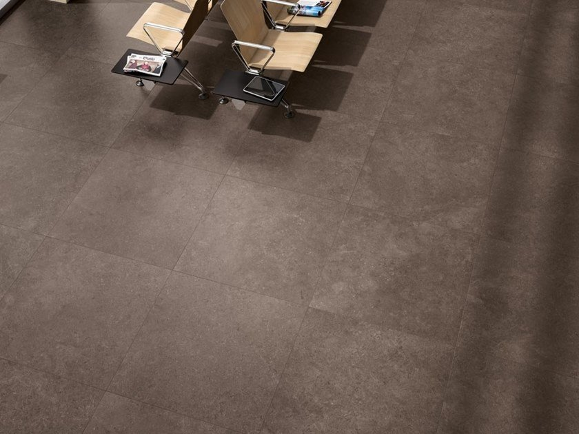 Porcelain stoneware wall/floor tiles with stone effect SECRET STONE - RARE DARK by COTTO D'ESTE