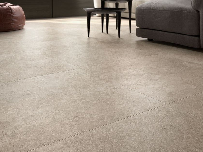 Porcelain stoneware wall/floor tiles with stone effect SECRET STONE - SHADOW GREY by COTTO D'ESTE