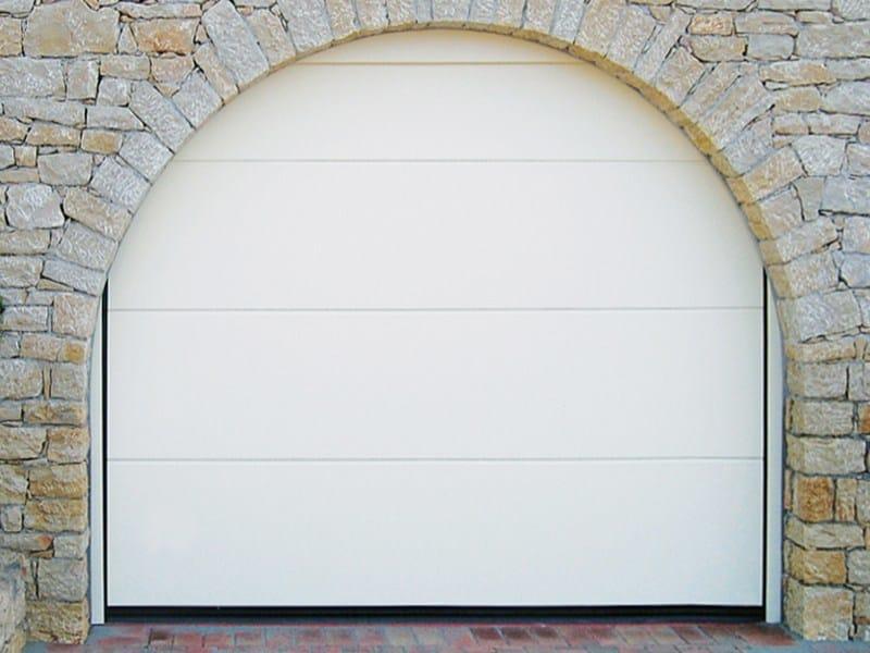 Sectional garage door SECTOR 2 by DE NARDI
