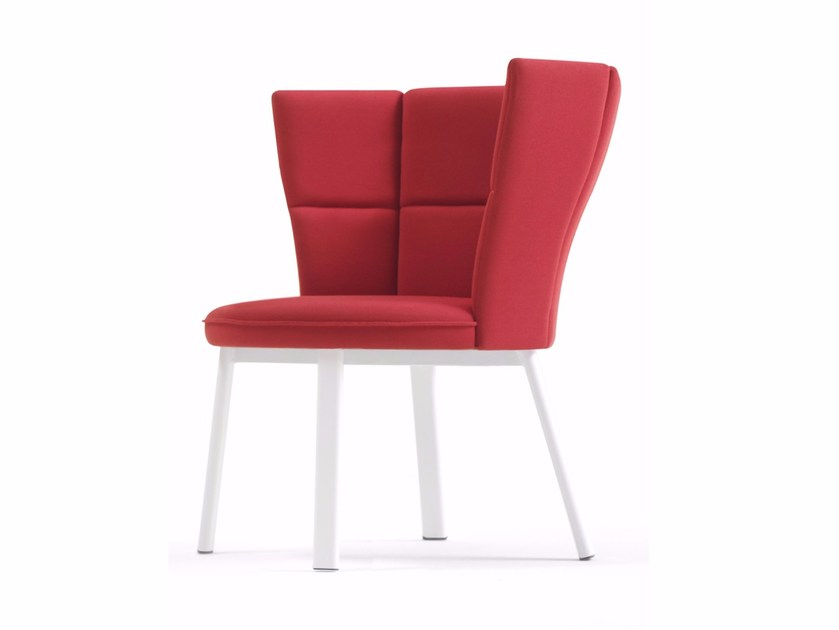 Upholstered fabric easy chair SECTOR | Easy chair by Inday