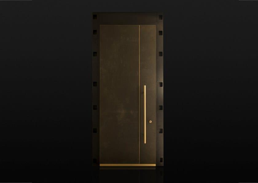 Sliding custom safety door SECURESLIDE by Ercole