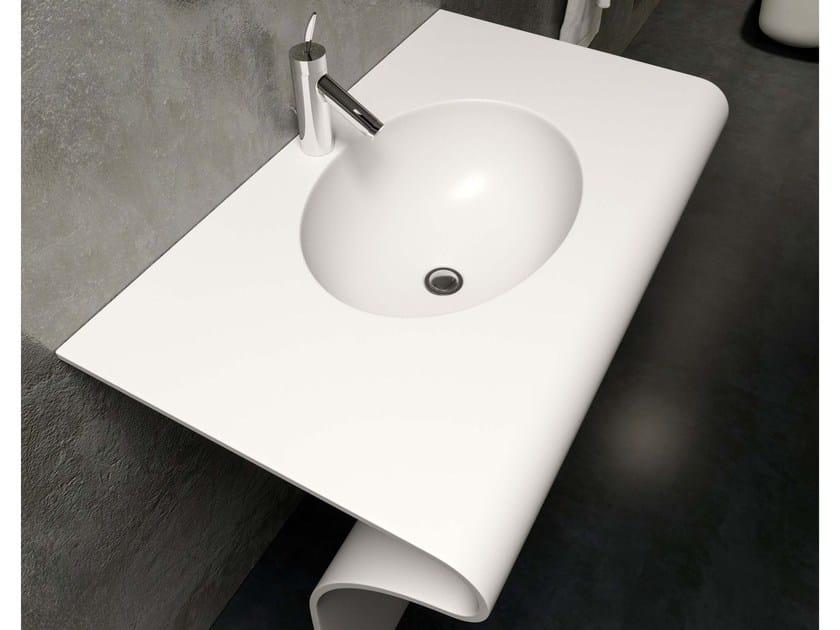 Krion® washbasin SEDICI by Componendo