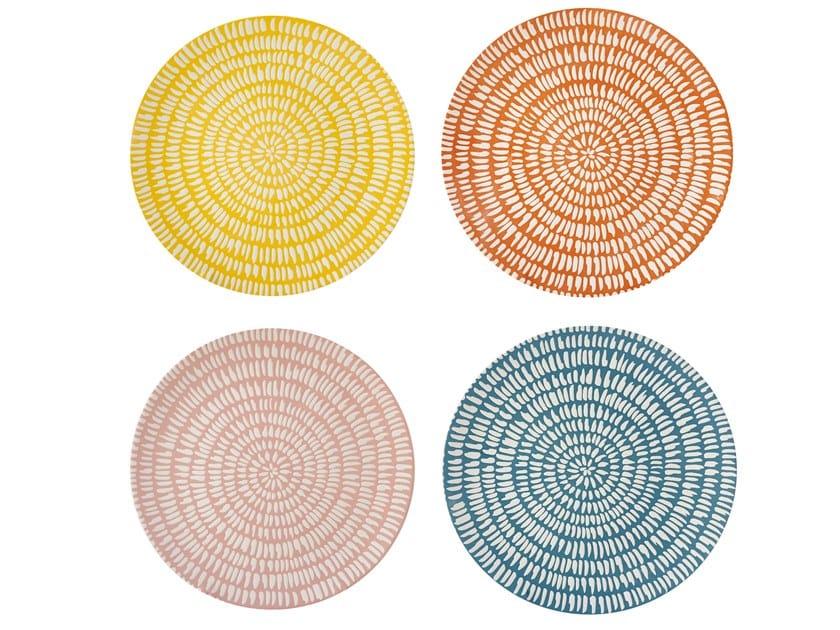 Porcelain plates set SEED | Dinner plate by Pols Potten