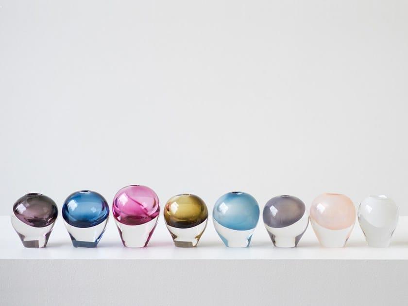 Blown glass decorative object SEED VESSEL by SkLO