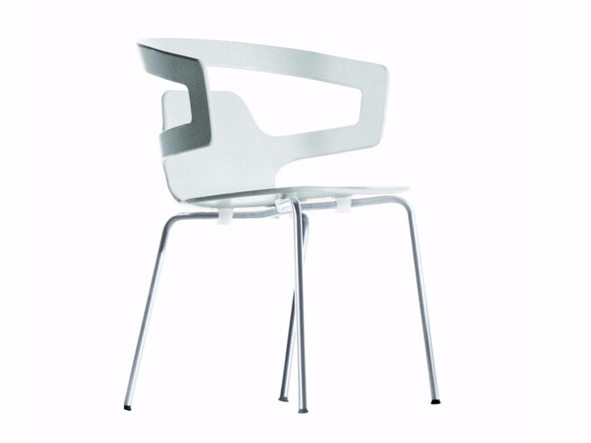 Stackable chair SEGESTA CHAIR - 500 by Alias