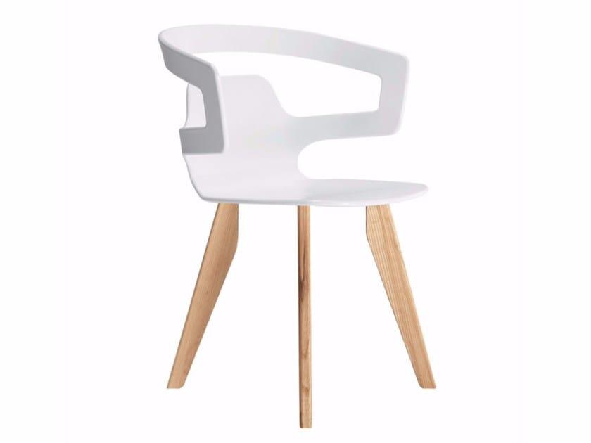 Chair SEGESTA WOOD - 558 by Alias