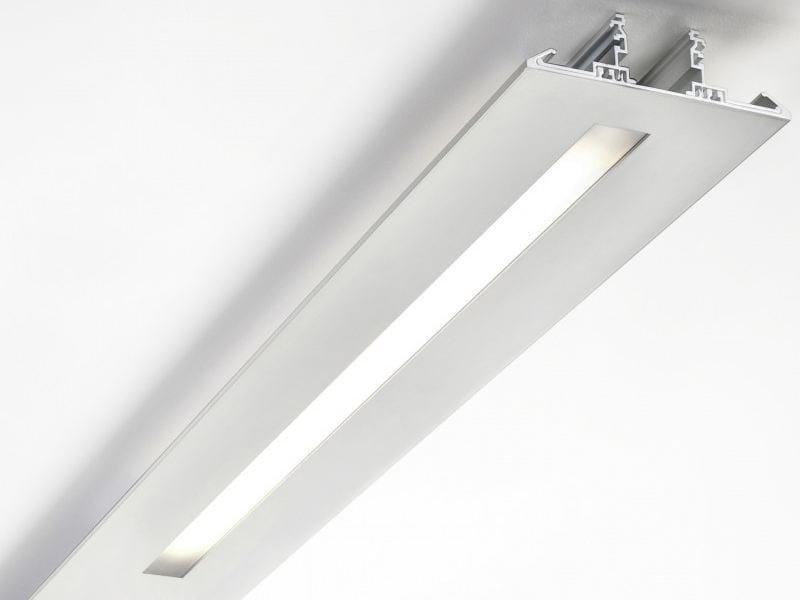 Extruded aluminium Linear lighting profile SEGMENT | Linear lighting profile for LED modules by LUCIFERO'S