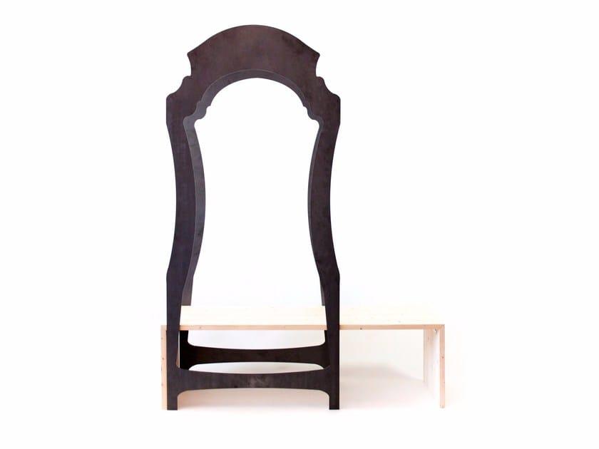 Coat rack / hallway unit SEGNO by Officine Tamborrino