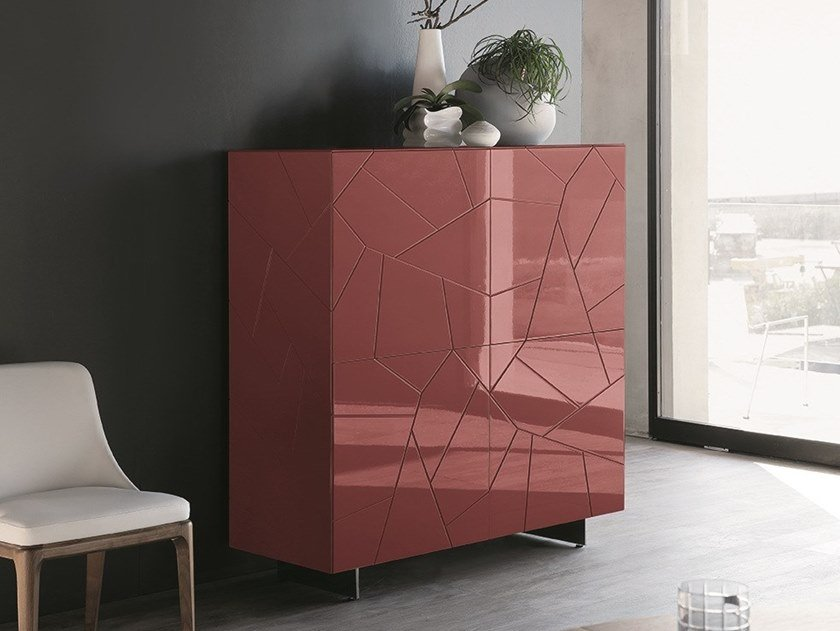 GRANADA | Lacquered highboard By Mobi