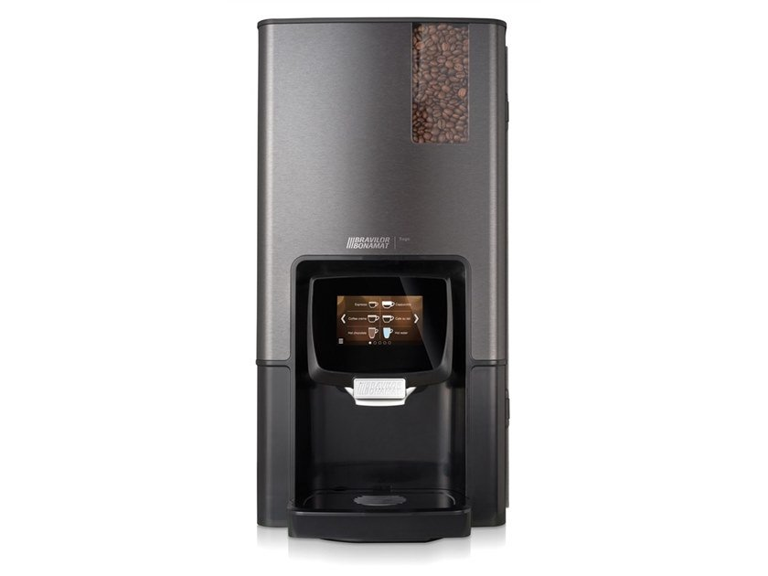 Automatic plastic Commercial coffee machine for instant ingredients SEGO by Bravilor Bonamat