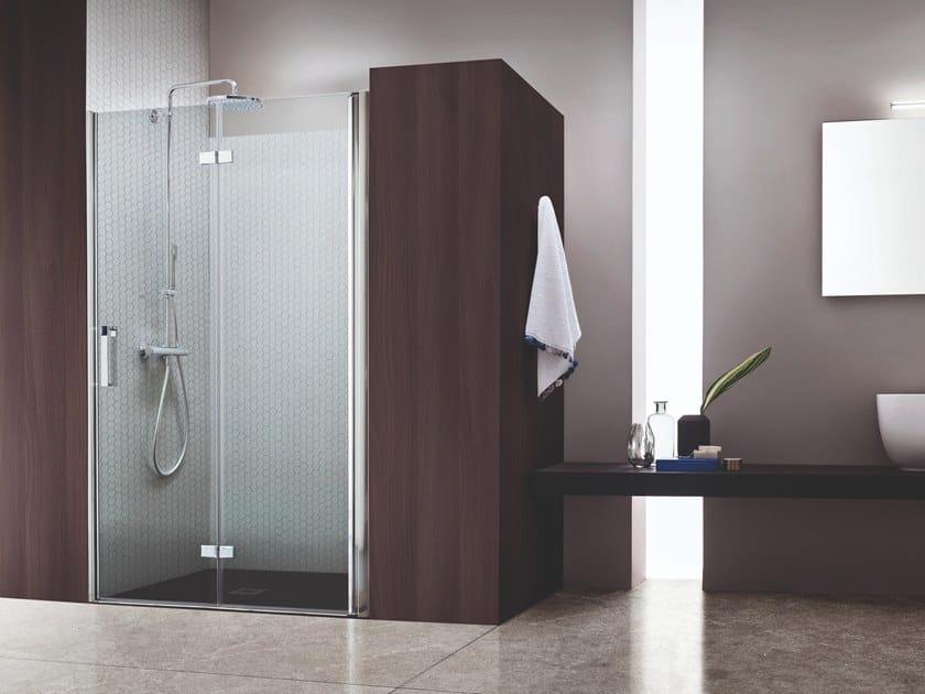Box doccia a nicchia con porta a soffietto SEI | Box doccia a nicchia by ARBLU