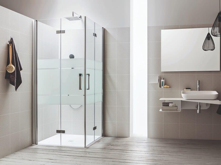 Box Doccia Arblu.Sei Shower Cabin With Folding Door Sei Collection By Arblu