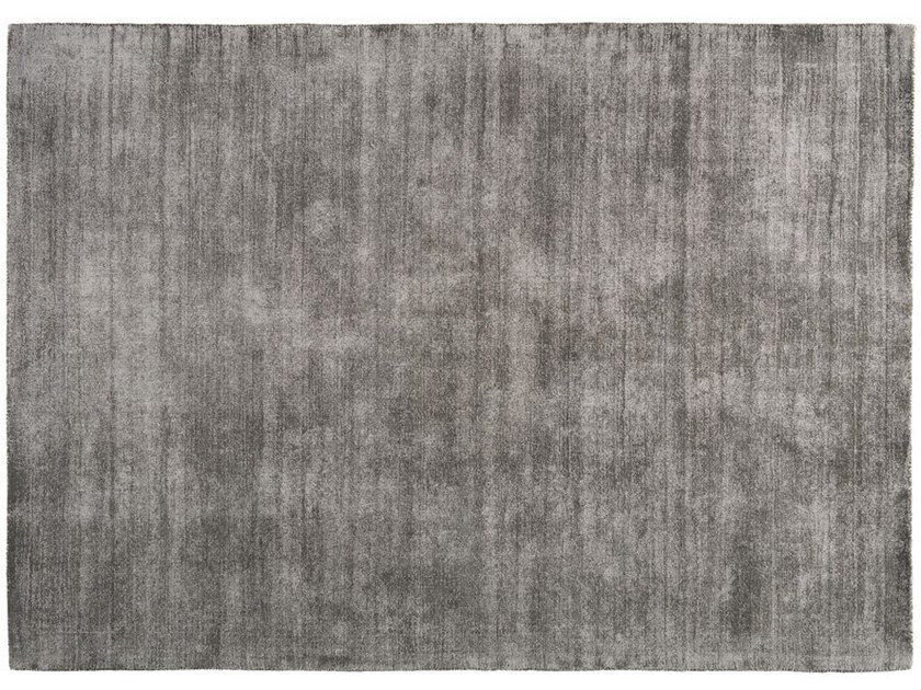 Solid-color rectangular polyester rug SELECT by Toulemonde Bochart