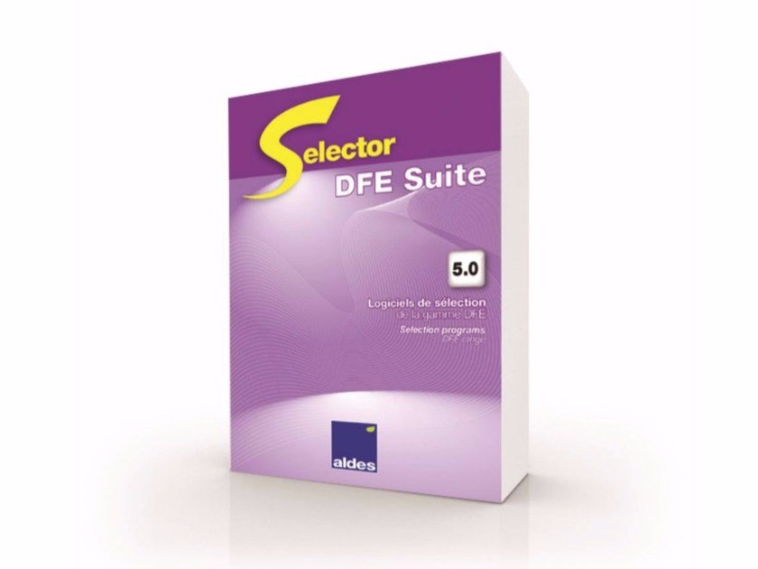 Software for home and building automation SELECTOR DFE by ALDES