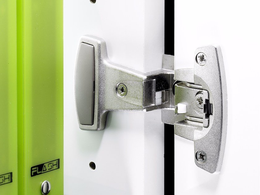 Special hinge for office furniture SELEKTA by Hettich