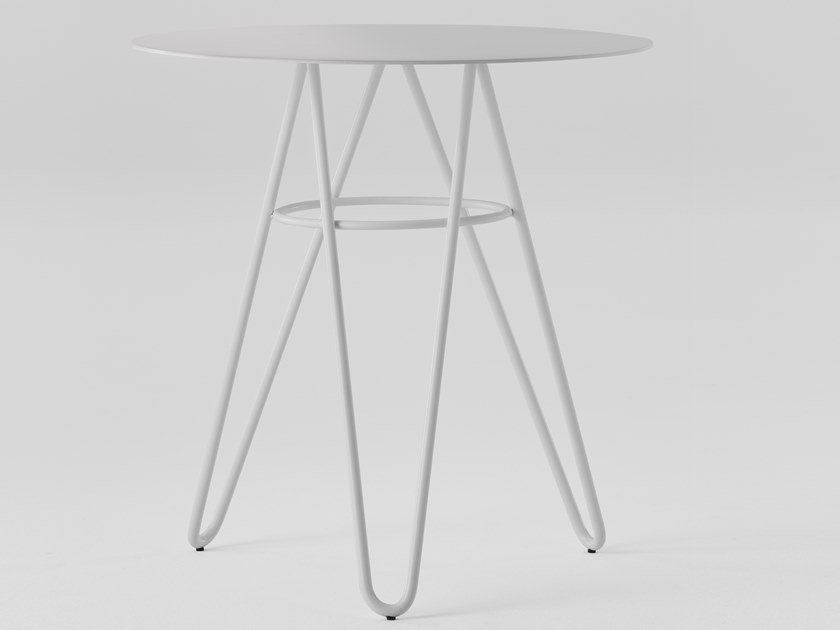 Round metal table SELF   Table by TrabA'