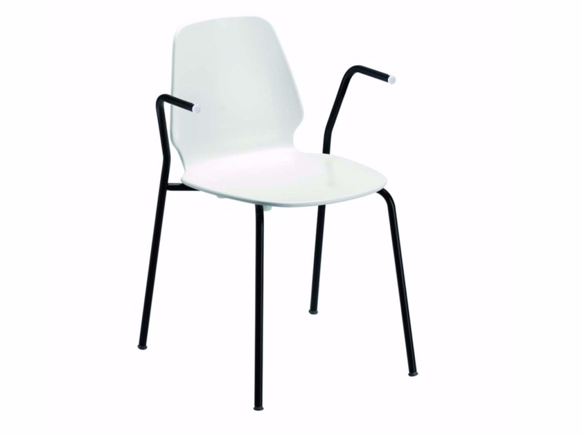 Chair with armrests SELINUNTE ARM - 54H by Alias
