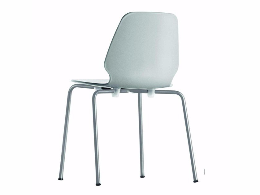 Chaise empilable SELINUNTE CHAIR - 530 by Alias
