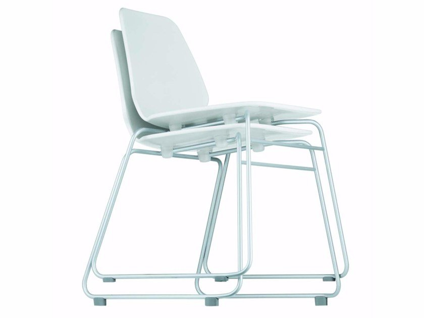 Stackable chair SELINUNTE CHAIR - 531_O by Alias