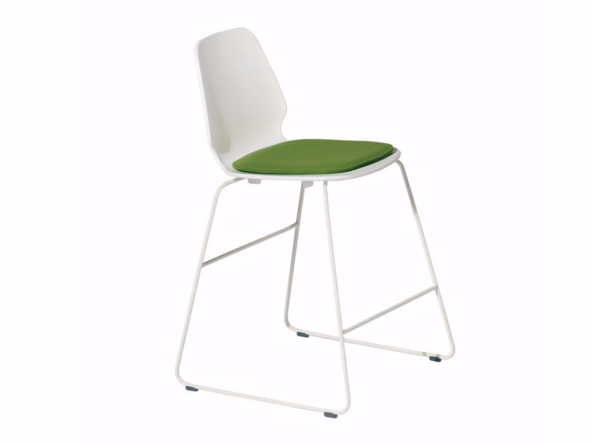 Sled base chair SELINUNTE STOOL - 547 by Alias