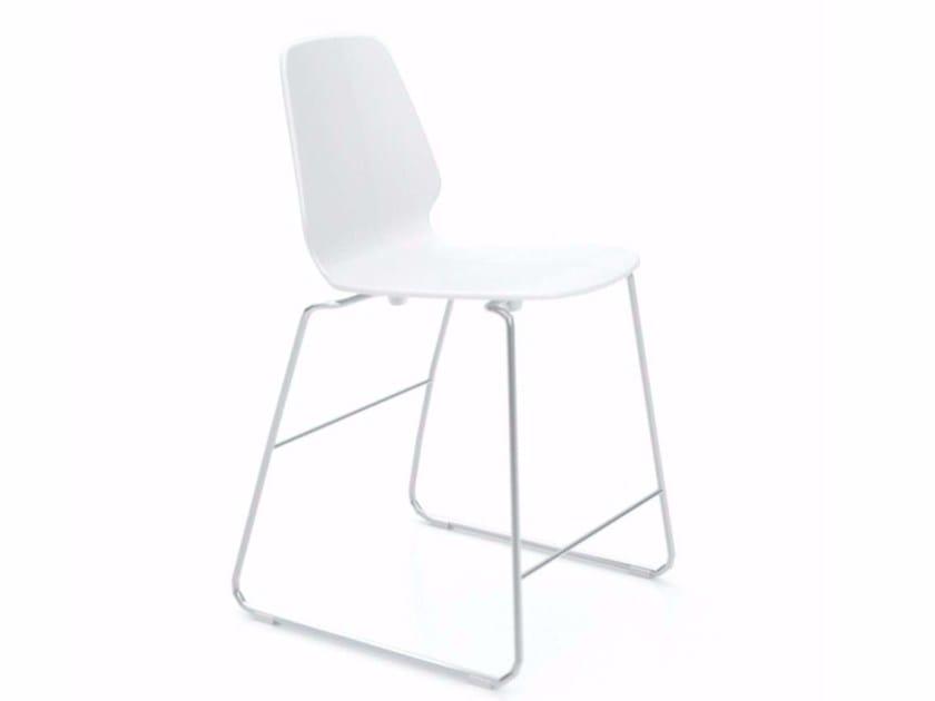 Sled base chair SELINUNTE STOOL - 547_O by Alias