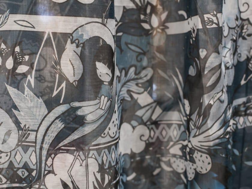 Multi-colored Trevira® CS fabric for curtains SELVA   Trevira® CS fabric by Equipo DRT