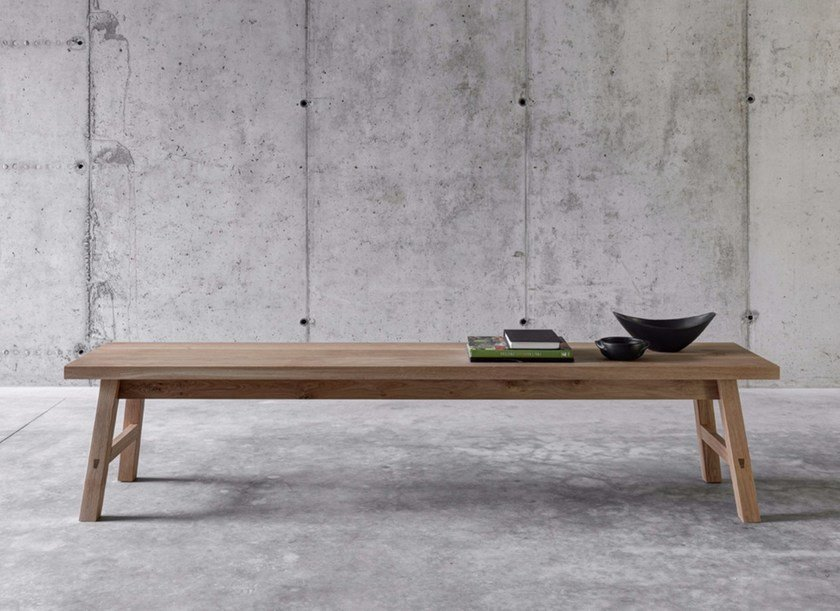 Solid wood bench SELVAPIANA by FIORONI