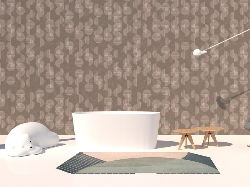 Wall tiles / wallpaper SEMICERCHI BEIGE by Officinarkitettura®