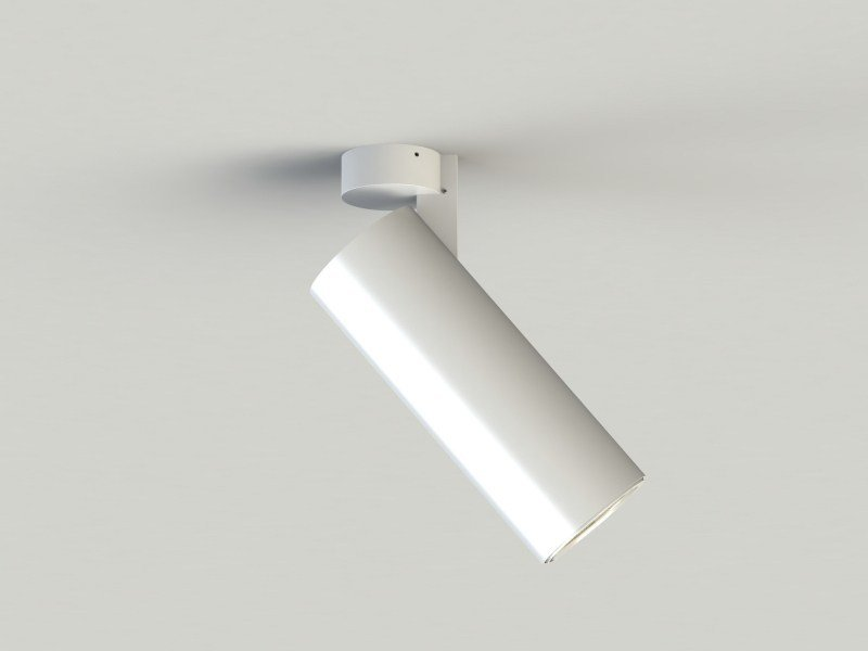 LED adjustable extruded aluminium spotlight with dimmer SEMPLICE | Spotlight by LUCIFERO'S