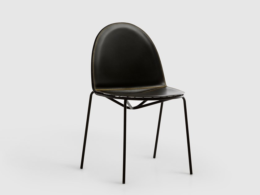 Leather chair SEN-SU | Leather chair by da a
