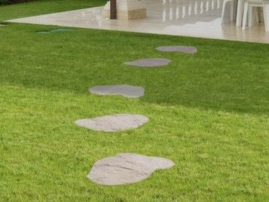 Reconstructed stone garden paths SEND-48 by SAS Italia