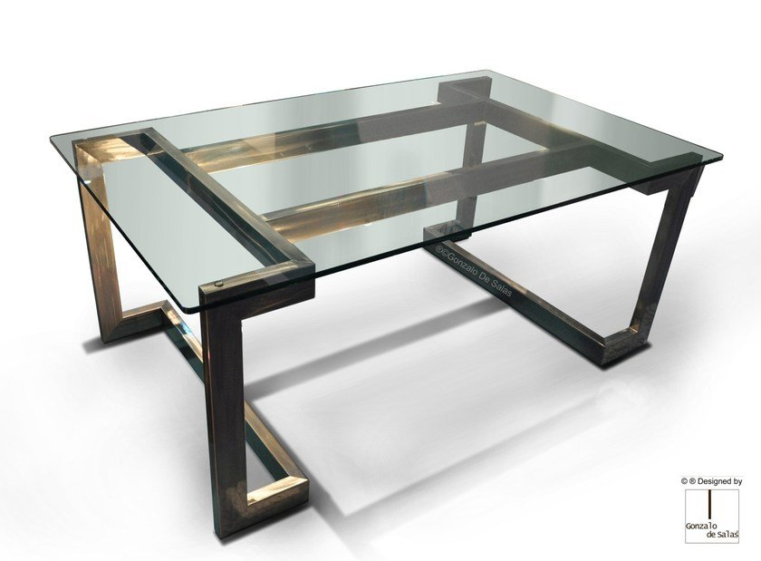 Rectangular meeting table SENDAI | Meeting table by Gonzalo De Salas