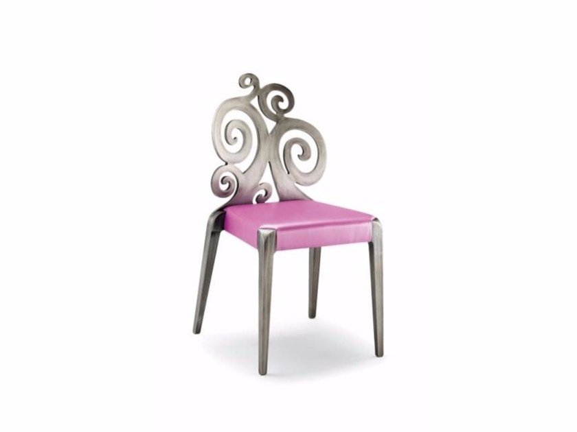 Stackable beech chair SENDY | Wooden chair by Cizeta L'Abbate