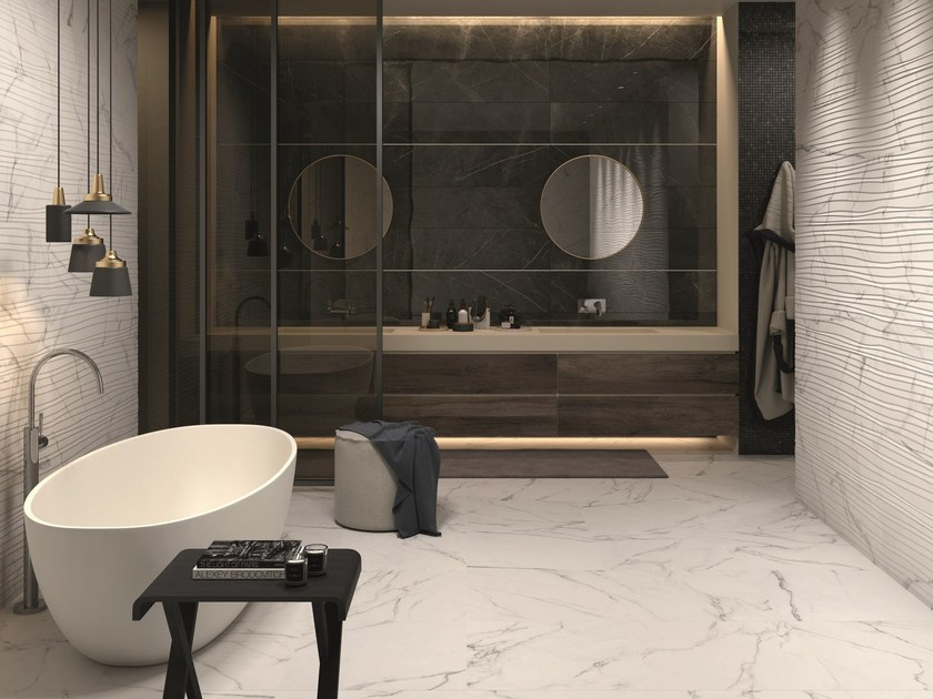 porcelain stoneware wall floor tiles sensi by abk. Black Bedroom Furniture Sets. Home Design Ideas
